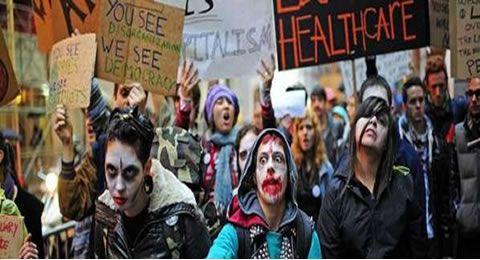 El zombi contra la crisis