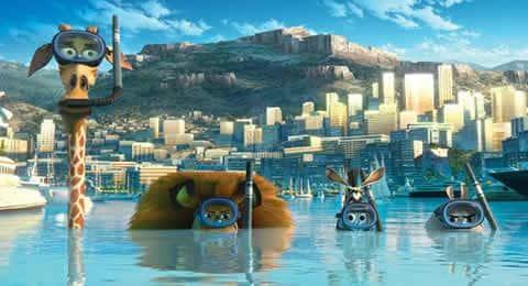 Madagascar 3, de marcha por Europa