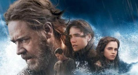 "I Cuaresma. ""Salvado del diluvio"". ""Noé"" (2014) Darren Aronpfsky"